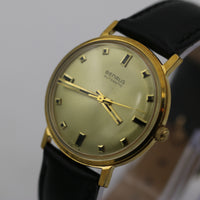 1970 Benrus Men's Swiss Automatic 17Jwl 14K Gold Watch