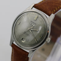 Benrus Men's Swiss Automatic 25Jwl Silver Calendar Watch