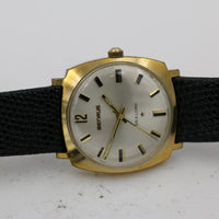 1960s Benrus Sea Lord Men's Gold 17Jwl Watch w/ Strap