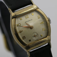 Benrus Men's Swiss Made 10K Gold Watch with Fancy Lugs