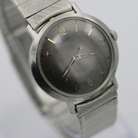 Waltham Men's 17Jwl Silver Interesting Dial Watch w/ Bracelet