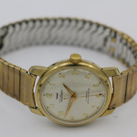 Waltham Men's Swiss Made 17Jwl Gold Watch w/ Bracelet