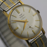Waltham Men's Swiss Made 17Jwl Gold Ultra Slim Watch w/ Bracelet