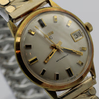 Elgin Men's Gold 17Jwl Swiss Made Calendar Watch w/ Bracelet