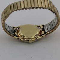 1950s Elgin Men's 14K Gold 23Jwl Made in USA Mystery Dial Ultra Thin Watch w/ Bracelet