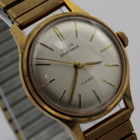 Elgin Men's Gold 17Jwl Made in France Watch - Very Rare