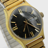 1970s Elgin Men's Gold 17Jwl Swiss Made Watch w/ Bracelet