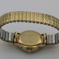 1950s Lord Elgin Men's Micromatic Swiss Made 10K Gold Automatic Fancy Bezel Watch