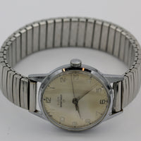 Elgin Men's Swiss Made Silver 17Jwl Watch w/ Bracelet