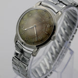 Elgin Men's Silver Swiss Made 17Jwl Watch w/ Bracelet