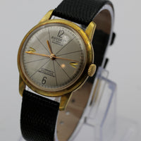 Astoria Men's Gold 17Jwl Swiss Made Watch w/ Strap