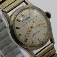 1950s Cel-Max Men's Gold 17Jwl Swiss Made Watch w/ Bracelet