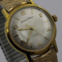 Germinal Voltaire Men's Automatic Swiss Made 17Jwl Gold Watch w/ Gold Bracelet