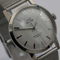 1960s HMT Slim Men's 17Jwl Silver Made in India Watch - Great Condition