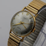 1940s Kienzle Men's Swiss Made 17Jwl Gold Watch w/ Bracelet