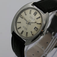 Limit of Switzerland Men's Swiss Made Automatic 25Jwl Silver Calendar Watch