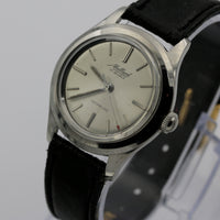 1960s Borel - Mallard Men's Swiss Made Silver 17Jwl Very Clean Watch w/ Strap