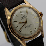 Oris Men's Swiss Made 17Jwl Rose Gold Watch w/ Strap