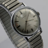 Orvin Men's Silver 17Jwl Swiss Made Watch w/ Silver Bracelet