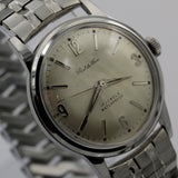 1960s Paul du Pree Men's Swiss Made 17Jwl Silver Watch w/ Silver Bracelet