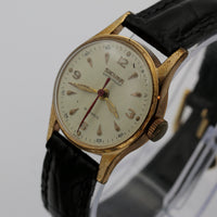 1950s Sicura Men's Swiss Made 15Jwl Gold Watch