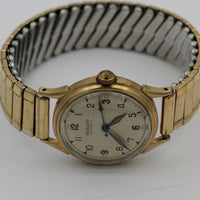 WWII Wadsworth Men's Swiss Made 17Jwl Automatic Gold Watch w/ Bracelet