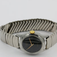 Windsor Luxor Men's Swiss Made 21Jwl Silver Watch w/ Bracelet
