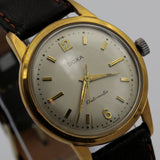 1950s Doxa Men's Gold Swiss Made Automatic Clean Watch w/ Strap