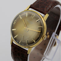 1950s Festina Men's Gold Swiss Made 17Jwl Watch w/ DeBeer Strap