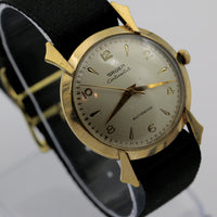 Gruen Continental Men's 10K Gold Automatic Bumper Watch w/ Strap