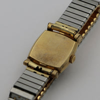 1940s Wittnauer Men's 10K Gold Swiss 17Jwl Fancy Lugs Watch w/ Original Box