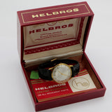 1970s Helbros Men's Gold Made in France 17Jwl Watch w/ Original Box