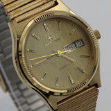 Hamilton Men's Gold Swiss Made Quartz Dual Calendar Watch w/ Original Box