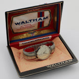 Waltham Men's 21Jwl Silver Watch w/ Original Box
