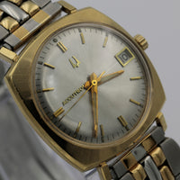 1967 Bulova Accutron 14K Gold Men's Calendar Watch w/ Bracelet