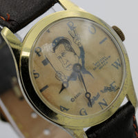 1970s Official Spiro Agnew Vice President Gold Watch by E.G.T.C.