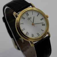 Citizen Men's Quartz Gold Roman Numerals Watch w/ Strap