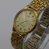 Citizen Men's Quartz Gold Watch w/ Gold Bracelet
