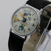 1971 Minnie Mouse Silver Full Size Watch by Timex