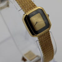 Seiko Ladies Quartz Gold Watch w/ Gold Bracelet