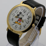 Seiko / Lorus Mickey Mouse Men's Gold Quartz Thin XL (44mm!) Watch