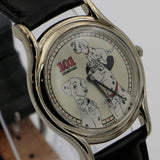 "1993 Disney Limited Edition ""Lucky-101 Dalmatians"" Men's Quartz Silver Watch w/ Box"
