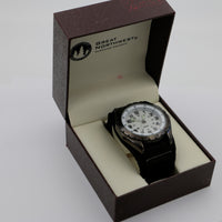 New Great Northwest Silver Military Time Large Quartz Watch w/ Box