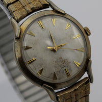 Waltham Men's Swiss Made 65Jwl Automatic  Gold Watch w/ Bracelet