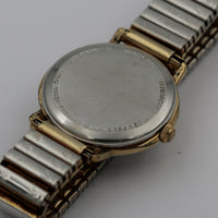 Waltham Men's Swiss Made 21Jwl Gold Watch w/ Bracelet