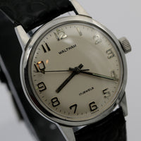 Waltham Men's Made in France 17Jwl Silver Watch w/ Strap