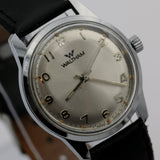 1970s Waltham Men's Swiss Made Silver 17Jwl Watch