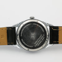1960s Waltham Men's Swiss Made Silver 17Jwl Watch w/ Strap