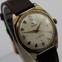 Waltham Men's Swiss Made 17Jwl Gold Fully Signed Watch w/ Strap