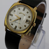 1950s Lord Elgin Men's Aquamaster Swiss Made Gold Automatic Calendar Watch